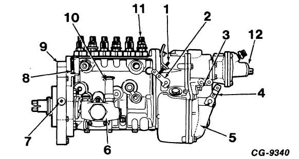 Bosch Mechanical Fuel Injection Pump Pictures