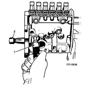 Figure 23. Installing Tappet Holder
