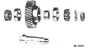 Fig. 13. Removing Idler Shaft and Gear