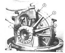 Fig. 15. Removing Differential Bearing Caps
