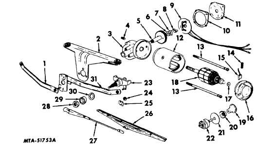 Fig. 7. Exploded View of Cam Actuated Parking Type Motor