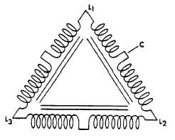 Figure 2 3-Phase Delta Common Voltages: 110/220; 120/240