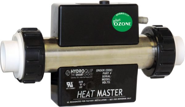 In-Line Electric Bath Heater with Ozonate