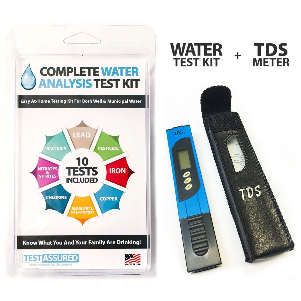 water test and tds meter