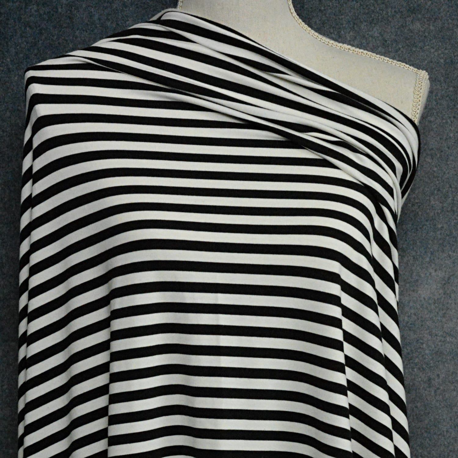 03a12cad907 Bamboo Cotton Jersey 3/8