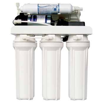 Reverse Osmosis Water Filter System with Pump Image