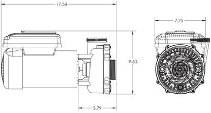 1 Hp Pool Pump Motor 1 HP Electric Water Pump Wiring
