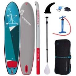Starboard Inflatable Sup Igo Zen Sc 112x31x55 Incl3 Pcs Abs Fieberglas Paddel M 2021