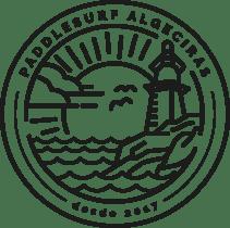 LOGO PADDLESURF ALGECIRAS PNG NEGRO