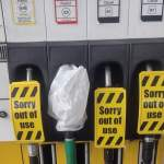 Day 3 Fuel Stations Closures at Pumps as Fuel Runs Dry
