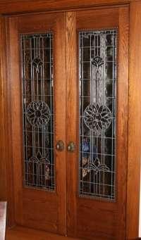 Beveled Doors & Door Glass Designs Ab083l Leaded Beveled ...