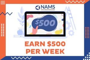 Earn 500 Per Week