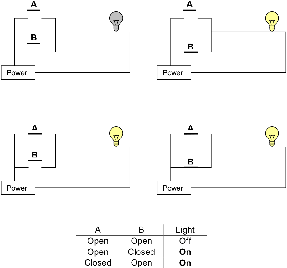 medium resolution of parallel wiring diagram light between switches wiring library wiring diagram for a series parallel switch
