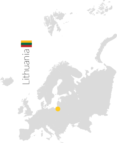 map Lithuania