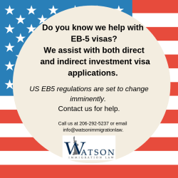 Watson Immigration Law EB-5
