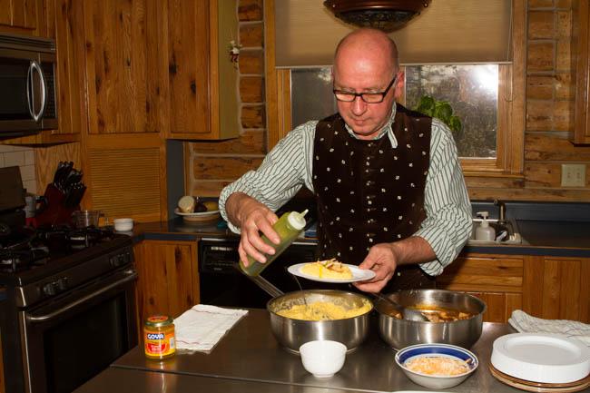 Chef Gebauer cooks more than just breakfast in Arizona