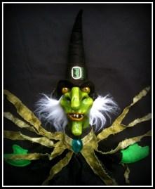 Witch Puppet - Papier Mache