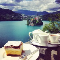 Traditional Cream Cake from Vila Bled