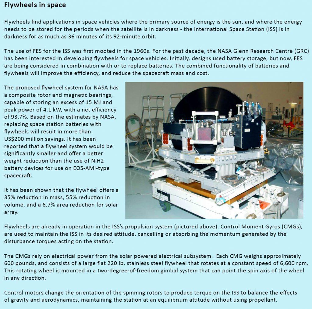 Flywheel Energy Storage Efficiency