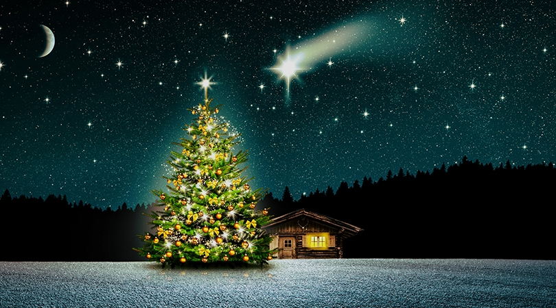history of Christmas lights