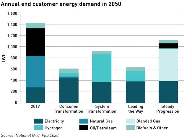 consumer energy demand scenarios