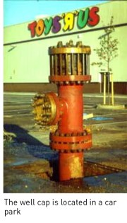 Geothermal well head in Southampton