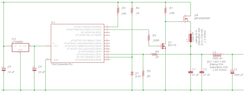 small resolution of and here s the schematic switching buck converter based on attiny84a