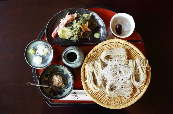 Kunoichi Soba Set (Ninja Soba set for ladies)