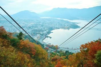 Mt. Kachikachi Ropeway พาไปถึงยอดภายใน 3 นาที ชมวิวอลังการจากบนเขา