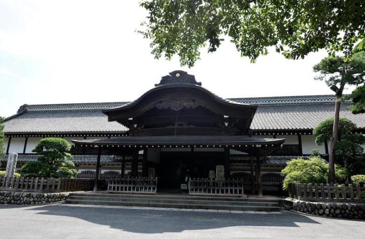 ปราสาทคาวาโกเอะ พระราชสำนักฮอนมารุโกะเทน