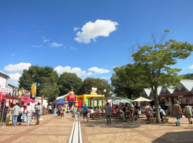 栃木縣的「道の駅 ろまんちっく村」面積約10個東京巨蛋大,在這裡還可以住宿、體驗農場生活,就像個主題樂園