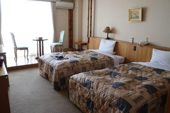 提供日式、西式以及日洋合併等客房。朝南的眺望,景色也極好