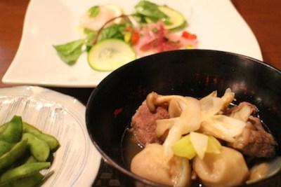採訪當天的晚餐,使用多種當地食材製作,相當美味