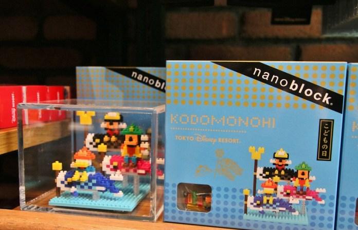 迪士尼版本的nanoblock迷你積木也很受到海外觀光客的歡迎