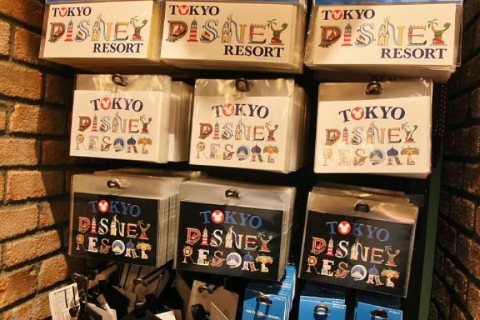 因應觀光客需求推出東京迪士尼度假區設計字型周邊