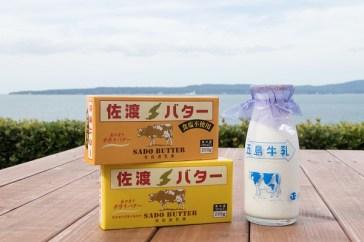 佐渡奶油都是 手工製作, 量少而珍貴