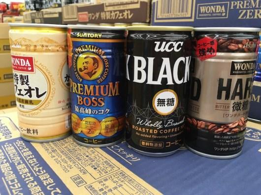 日本罐裝咖啡