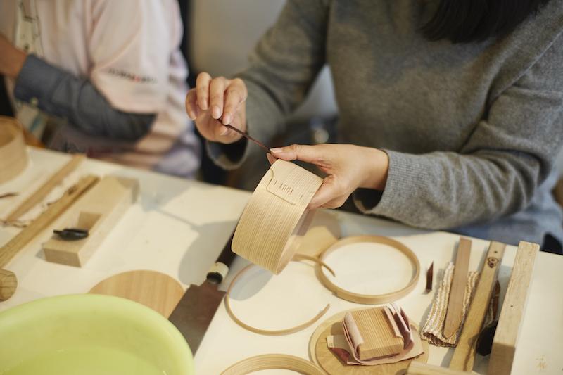 雖然製作步驟不難,但想做出漂亮的曲木盒還是不簡單