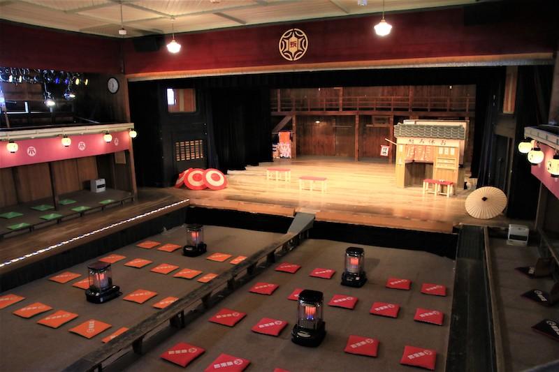 康樂館至今仍有歌舞伎、「常打芝居(指大眾時代劇)」和文樂等藝文表演登台演出