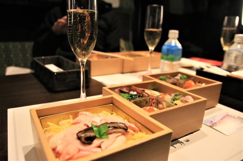從糸魚川站出發的行程提供的是和食料理