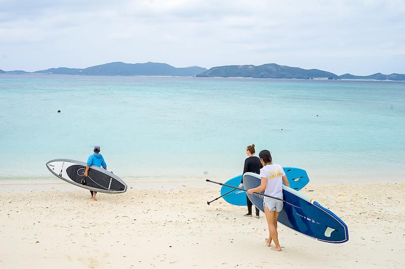 渡嘉敷島美麗的海灘