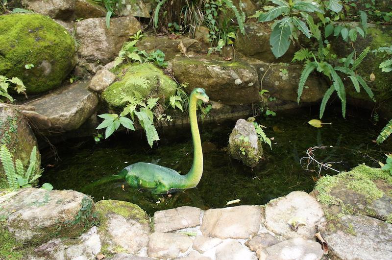 水邊也可以找到恐龍