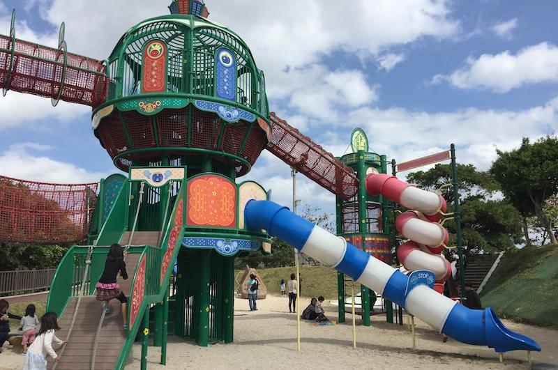 南風町「本部公園」有多項體能器材
