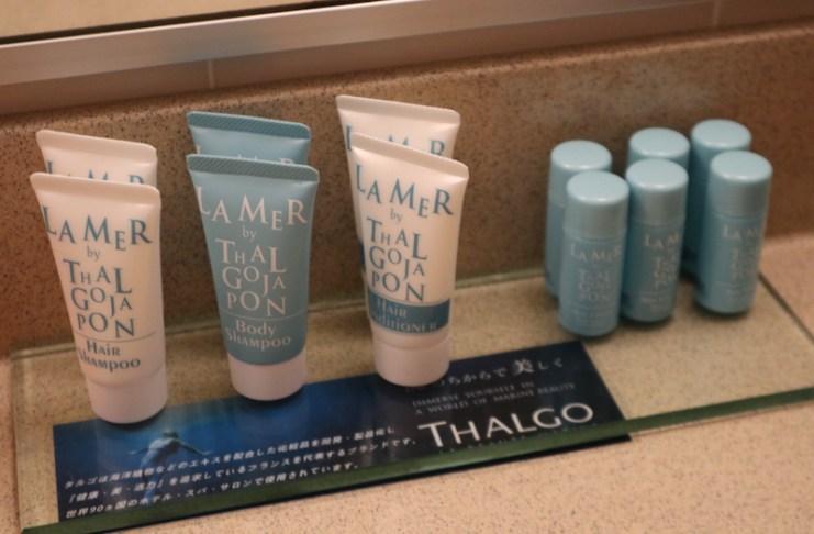 女性旅客專屬的法國岱蔻兒(THALGO)護膚備品
