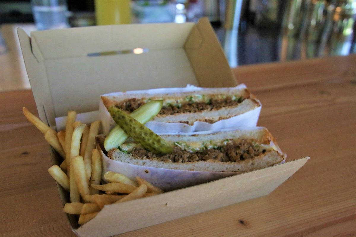 店內也有多種三明治可以選擇