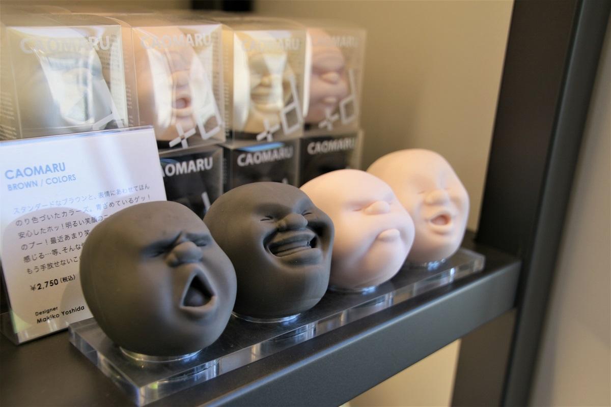 「CAOMARU」是人氣的療癒系商品,觸感相當軟,可以任意揉捏