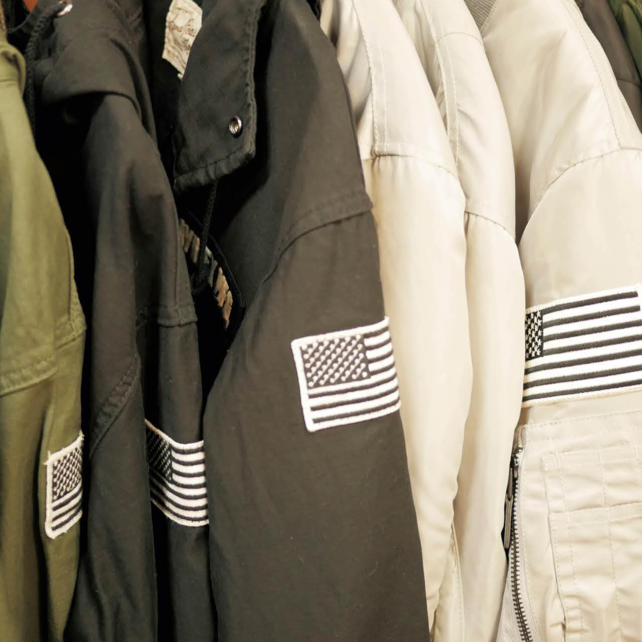 美軍服飾店家