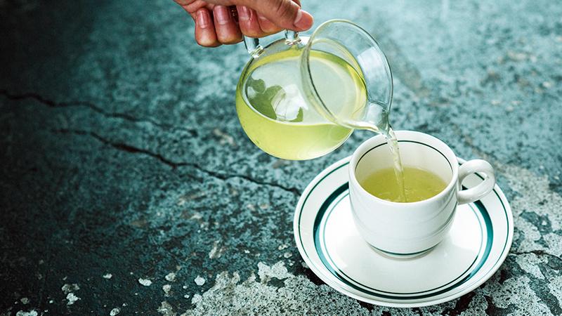 Satén Japanese tea