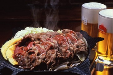 The local BBQ: Jingiskan - a unique mix of seasonings that goes well with beer.