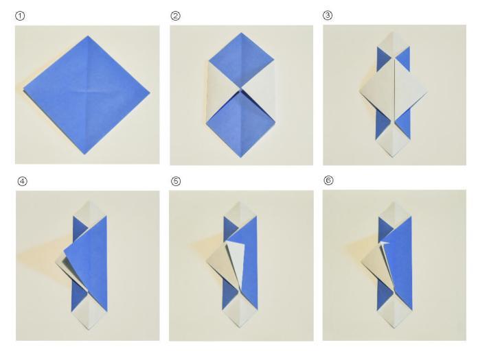 Origami Paper Crane Envelope - DIY - Origami Kawaii〔#073〕 - YouTube | 522x696